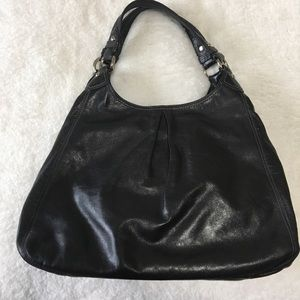 COACH Maggie XL Hobo Bag - Black Leather